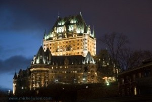5. Fairmont Chateau Le Frontenac, Old Quebec City, Quebec, Canada