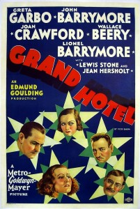 Grand Hotel old book cover